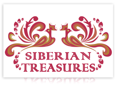 Siberian Treasures - Russain Art Salon and Souvenir Store Logo Design